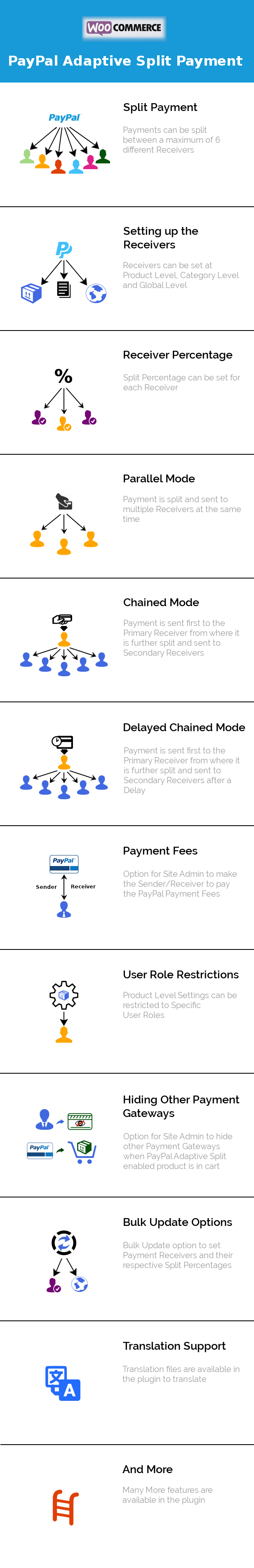 PayPal Adaptive Split Payment_Features_Infographics_Image