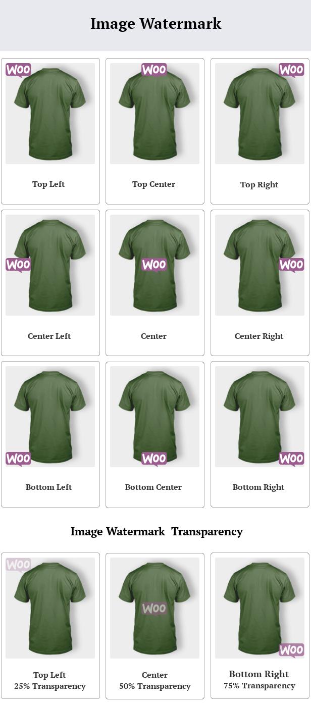 SUMO WooCommerce Product Image Watermark - 1